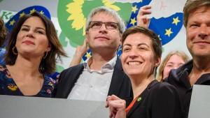 Grüne wollen im EU-Parlament stärker werden
