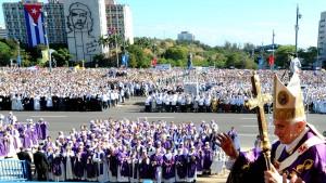 Der Papst redet ja wie Fidel