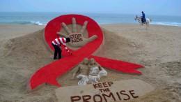 Zahl der mit HIV Infizierten geht weiter leicht zurück