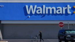 Walmart räumt Waffen und Munition aus den Regalen