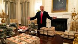 Burger für Alle bei Trump