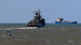 Flugzeug entdeckt Objekt auf Meeresgrund