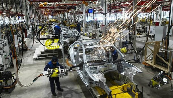 Die Autoflaute trifft die Zeitarbeitsbranche