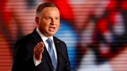 Deutschland weist Angriffe des polnischen Präsidenten zurück