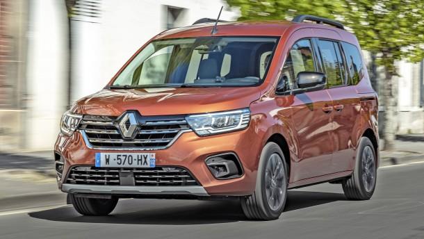 Auf einen Renault Kangoo mit Technik & Motor