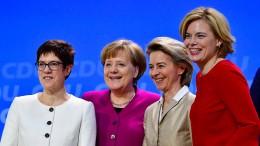 Frauen in die Parlamente!