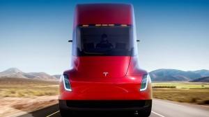 Tesla präsentiert neuen Elektro-Lastwagen