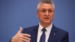 """RKI-Chef Wieler: """"Wir sind auf einem guten Weg"""""""