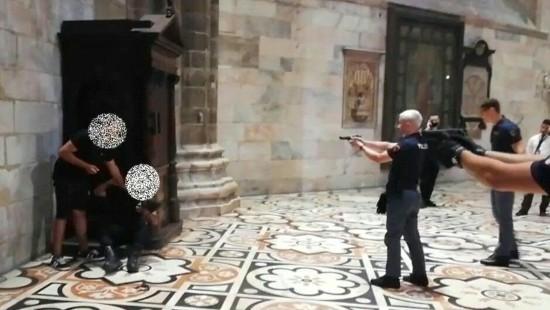 Polizei überwältigt Geiselnehmer im Dom