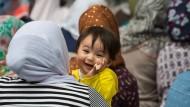 Flüchtlinge sind in Deutschland besonders willkommen