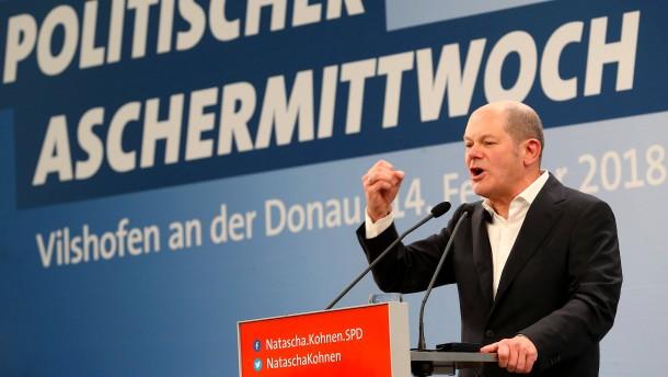 Scholz: Merkel und Seehofer haben Zenit überschritten
