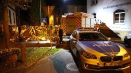 Mann bei Schusswechsel mit Polizisten in Alsfeld getötet