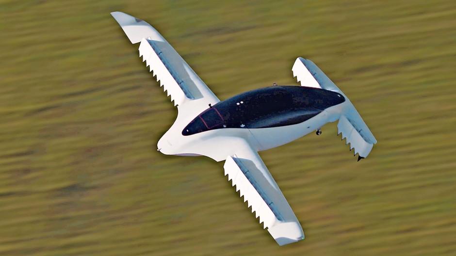 Der Prototyp fliegt sichtbar bislang nur in einer Animation.