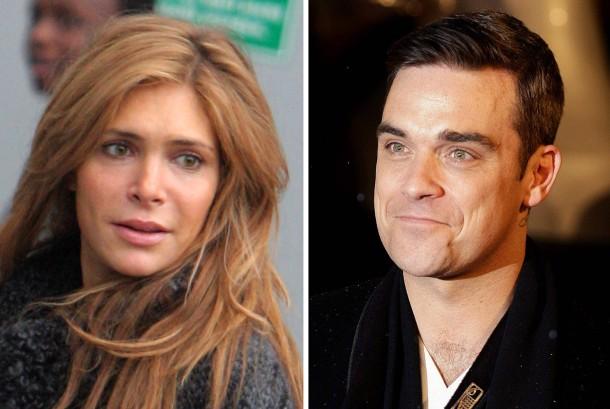 Robbie Williams und Ehefrau Ayda Field