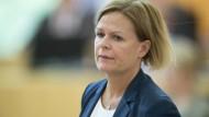 Nancy Faeser im vergangenen August im hessischen Landtag.