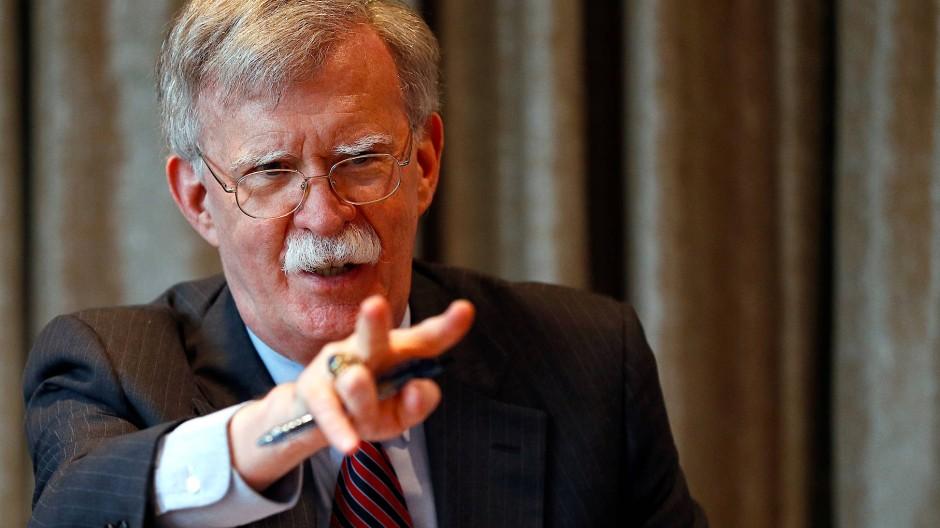 Hardliner mit ausgeprägtem Machthabitus: Donald Trumps Sicherheitsberater John Bolton