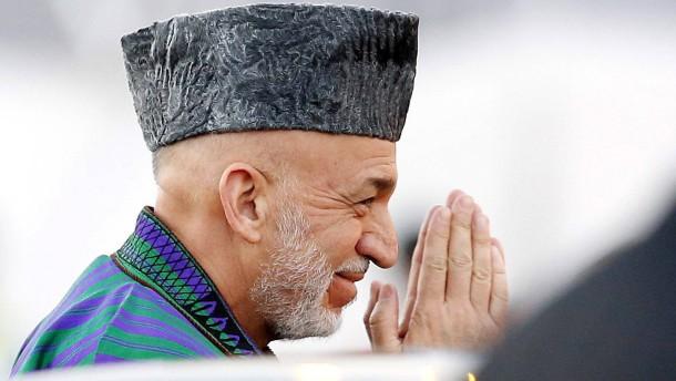 Karzai in Verhandlungen mit den Taliban
