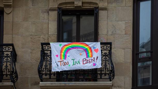 In Spanien zehrt die Ausgangssperre an den Seelen
