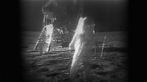 Versteigerung der Apollo 11-Originalaufnahmen