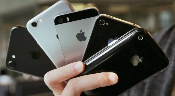 Apple soll iPhone-Software manipuliert haben.