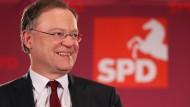 Wird künftig in Hannover regieren: der SPD-Spitzenkandidat Stephan Weil