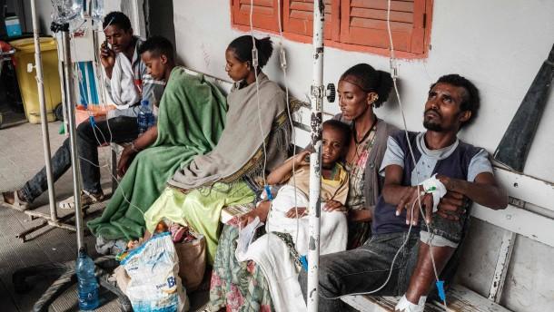 Aufständische rücken in Äthiopiens Norden vor