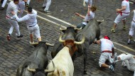 Abermals Verletzte bei Stierhatz in Pamplona
