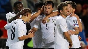 DFB-Team unstrukturiert und fehlerhaft