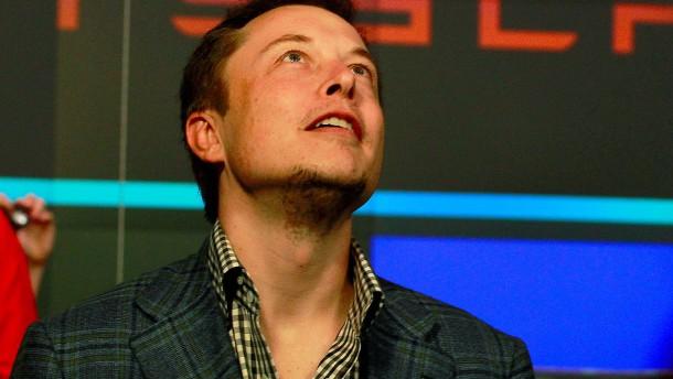 Dämpfer aus China, Schwung von Elon Musk