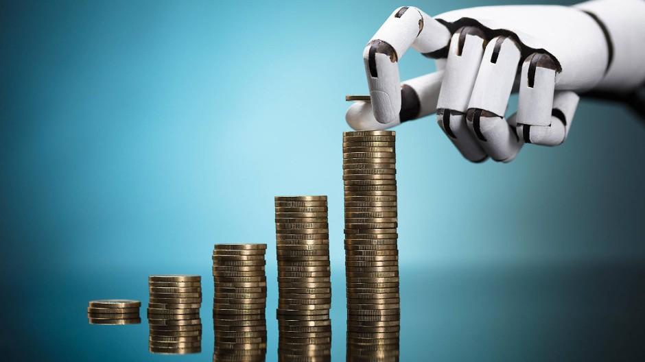 Die F.A.Z. hat sich bei führenden Dienstleistern digitaler Vermögensverwalter umgehört.