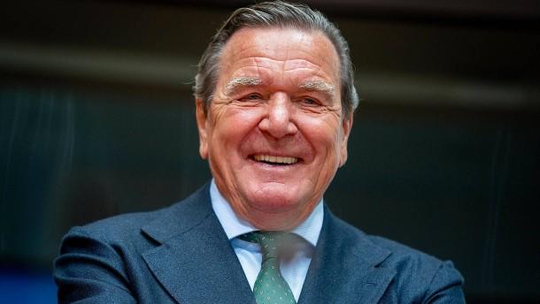 Altkanzler Schröder verteidigt Nord Stream 2