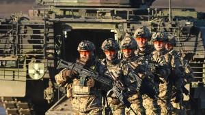 Bundeswehr für Führung der Nato-Speerspitze schlecht gerüstet
