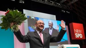 Martin Schulz führt die NRW-SPD in die Bundestagswahl