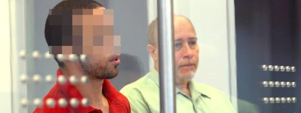 Der Angeklagte Abdeladim El-K. im Oberlandesgericht Düsseldorf (Archivbild Juli 2012)