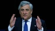 """""""Nicht die EU hat ihre Position geändert, sondern Präsident Erdogan"""": EU-Parlamentspräsident Antonio Tajani"""