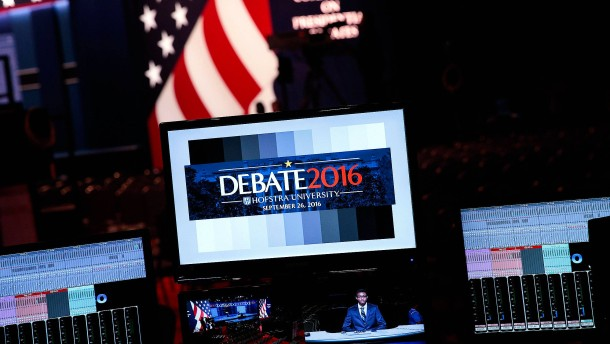 TV-Duell in Amerika: Clintons Chance und Trumps Risiko