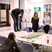 """Klötzchen der Zukunft: Workshop-Teilnehmer der """"Wunschproduktion"""""""