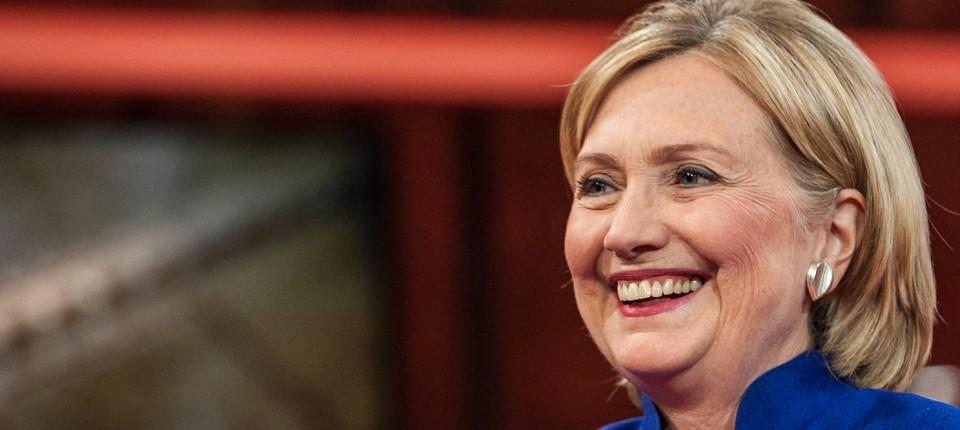 Hillary Clinton Bei Jauch Immer Nur Um Die Frisur