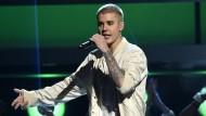 """""""Selbstsüchtig""""?: Justin Bieber auf einem Konzert in Las Vegas"""