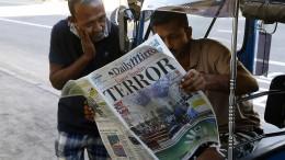 Sri Lanka bangt um den Tourismus