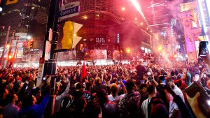 Eine Stadt feiert ihre Basketball-Helden