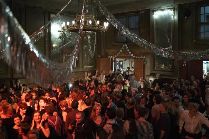 Der letzte Tanz im Januar, jetzt wird renoviert.