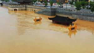 Schwere Schäden nach Regen in China