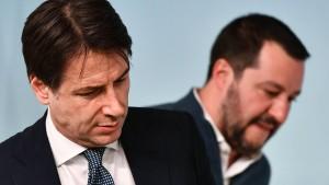 Vorerst kein Misstrauensvotum gegen Ministerpräsident Conte