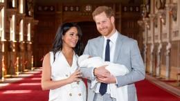 Meghan und Harry präsentieren ihr Baby