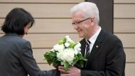 Landtag wählt Winfried Kretschmann zum Ministerpräsidenten