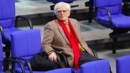 Verabschiedet sich von der großen politischen Bühne: Grünen-Politiker Hans-Christian Ströbele