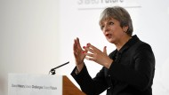 Theresa May: Rede in Florenz