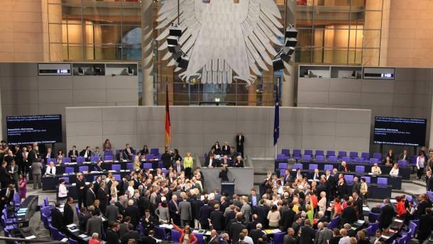 Bundestag stimmt Fiskalpakt und ESM mit Zweidrittelmehrheiten zu