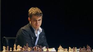 Carlsen im Glück